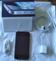 Apple iphone 4G 4 16 GB Black (AT&T) GPS WIFI 3G HD NEW