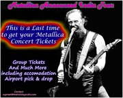 Last Chance to get Metallica Ticket,  Metallica Announce India Tour
