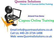 Cognos Online Training by Quontra Solutions with Placement Assistance