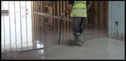 Preparing the floors for liquid screed