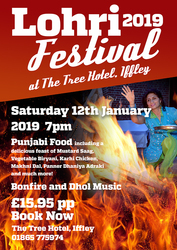 Celebrate Lohri Festival with Tree Hotel ,  Iffley