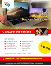 Mac Repair services Oxford